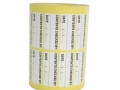 roll-of-white-labels