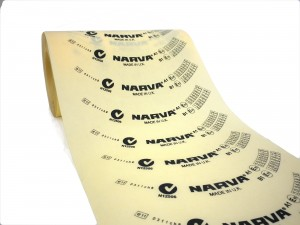 transparent curved labels