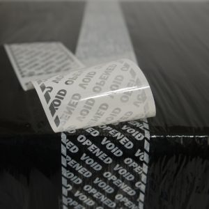 Tamper Evident Tape for Shrink Wrap
